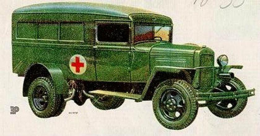 1951 GAZ 55