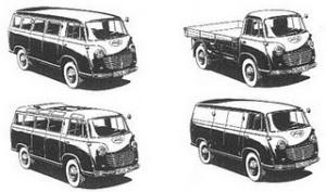 1951 goliath van range