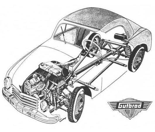 1951 gutbrod 600 51