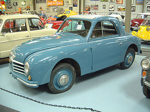 1951 Gutbrod Superior 600 Luxus