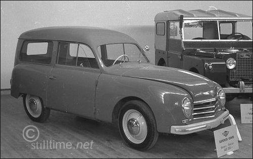 1951 Gutbrod superiorkombi