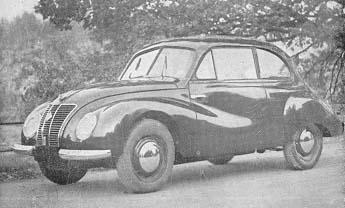 1951 ifa sedan