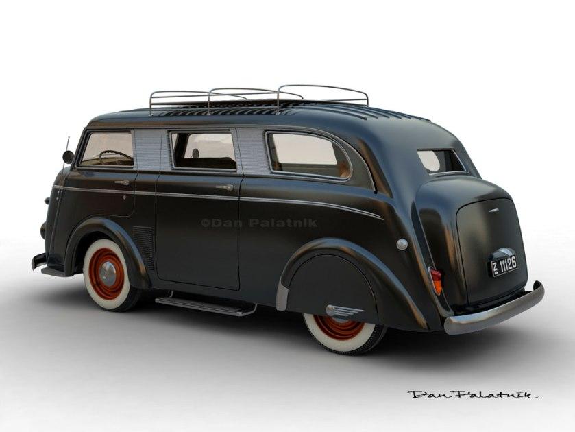 1951 Tempo Matador Limousine