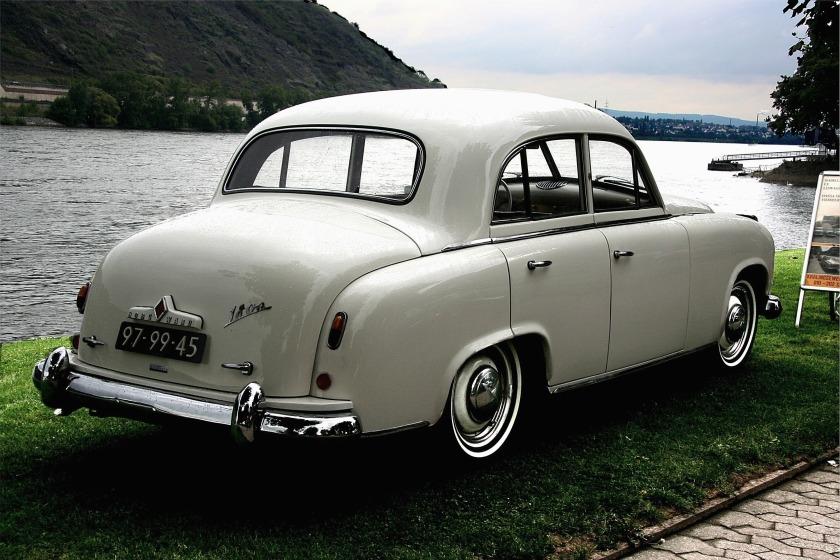 1952-54 Borgward Hansa 1800 Heck,