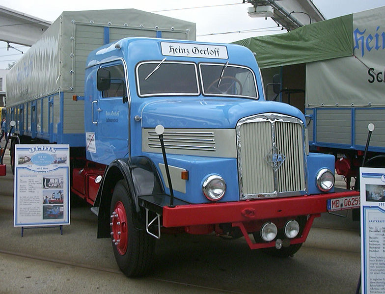 1952-57 H6 als Sattelzugmaschine IFA S6