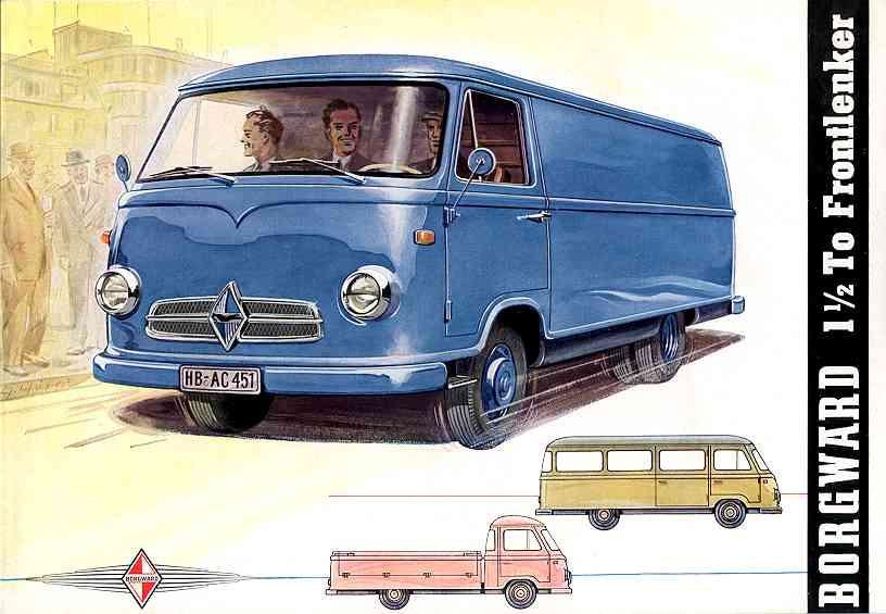 1952-60 borgward 1500 F611 01