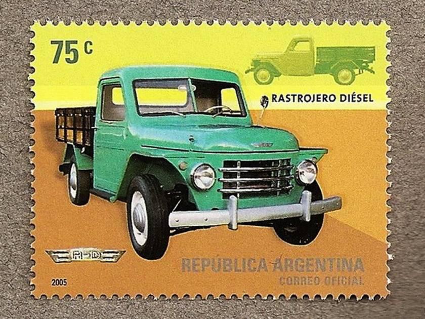 1952-69 Rastrojero Folder Argentinië