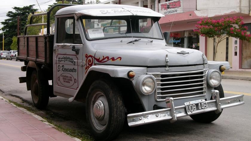 1952-69 Rastrojero pickup truck Argentinië