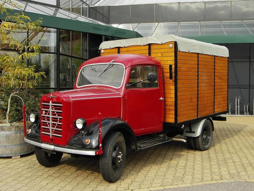 1952 Borgward B1250