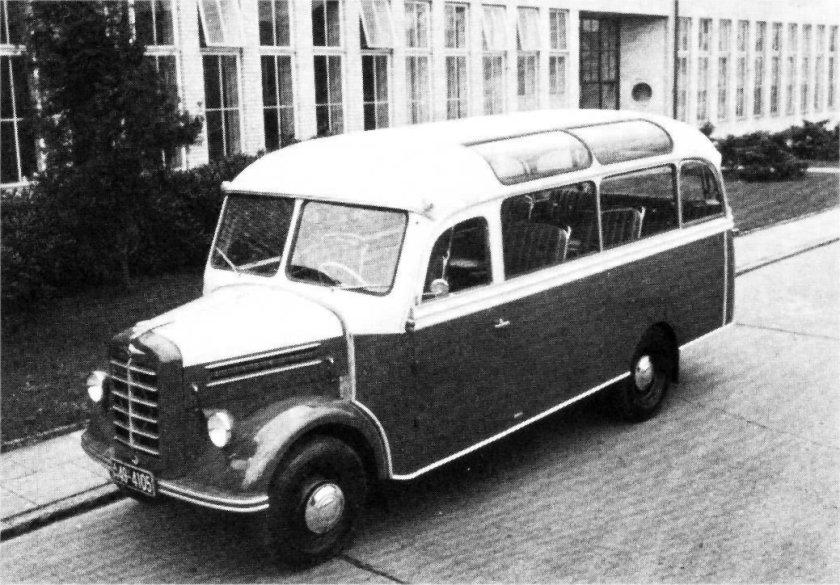 1952 Borgward b1500-kleinomnibus