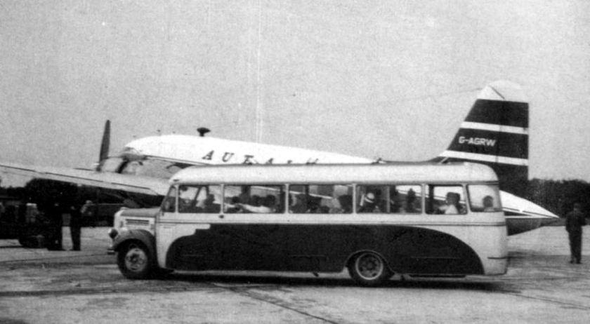 1952 Borgward flughafen-omnibus