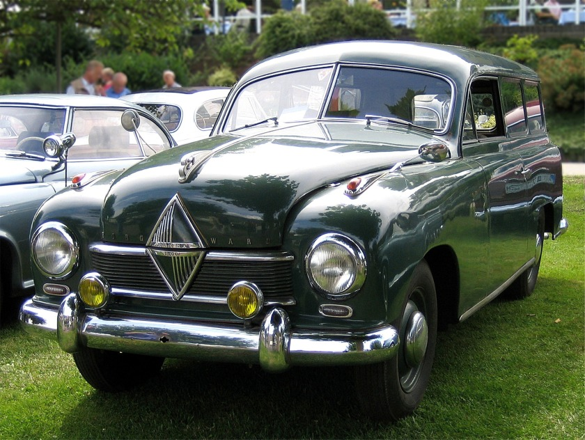 1952 Borgward Hansa 1500 Kombi,