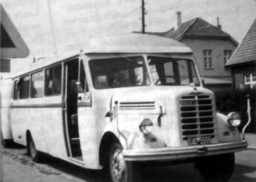 1952 Borgward omnibus