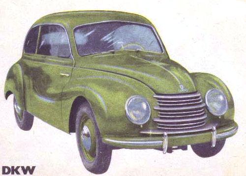1952 Dkw sedan