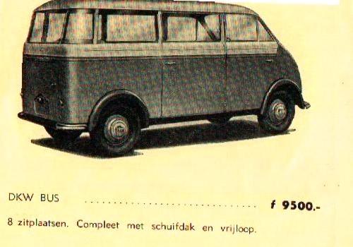 1952 Dkw wagon