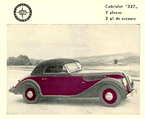 1952 Emw 327-2 cabrio