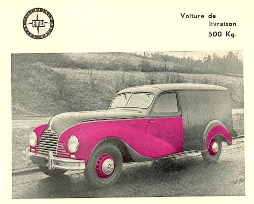 1952 Emw 340 van