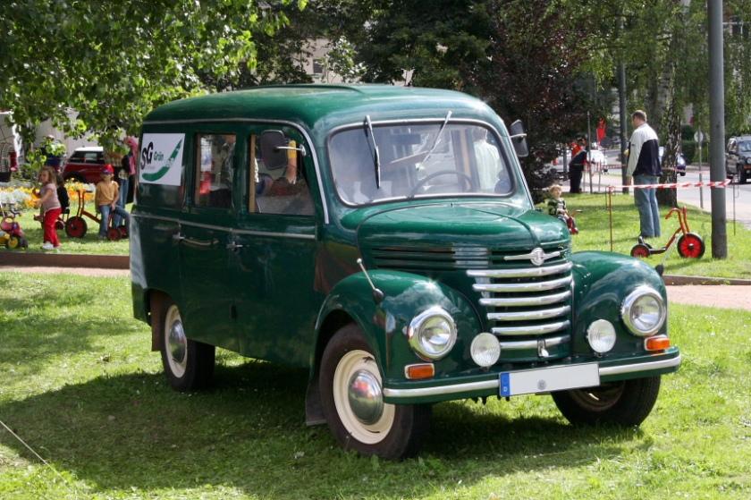 1952 framo-barkas