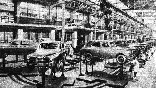 1952 gaz m20 prod
