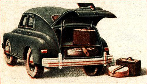 1952 gaz m20 tyl