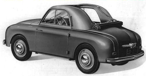 1952 Gutbrod superior 600