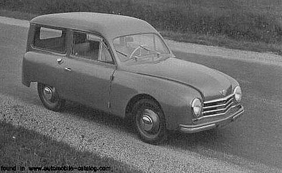 1952 Gutbrod SUPERIORKOMBI 2