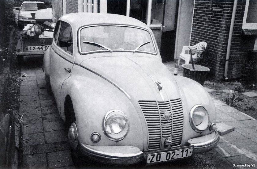 1952 IFA F9 - fVr (DDR)