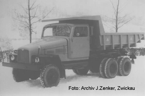 1952 IFA G 5 mit einem Muldenkipperaufbau der Fa. Hunger