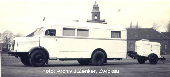 1952 IFA H 6 Sanitätszug