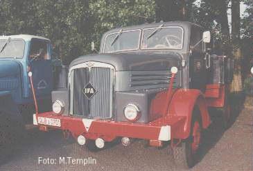 1952 IFA H 6 Z(ugmaschine) von Herrn M.Brehme aus Harzgerode