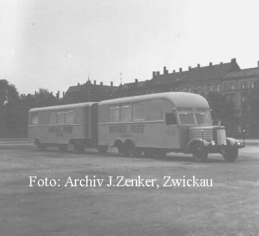 1952 IFA H6 Röntgenzug