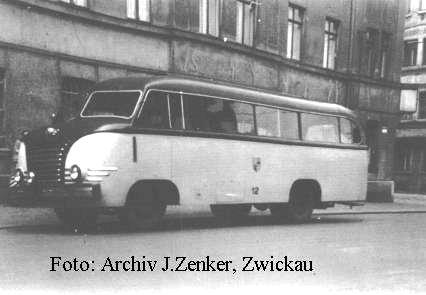 1952 IFA mit Ernst Grube H3B aufbau