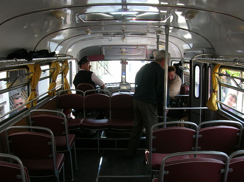 1952 Ikarus 31 inside