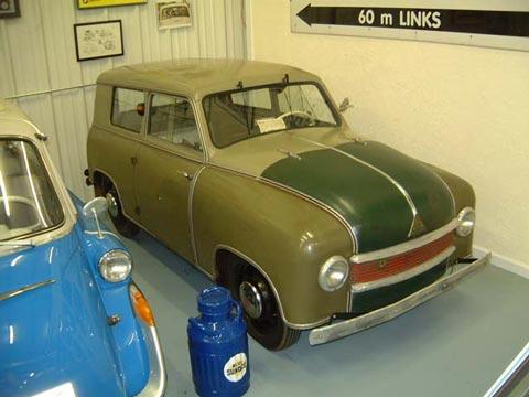 1952 Lloyd LS 300 Bremen (D)