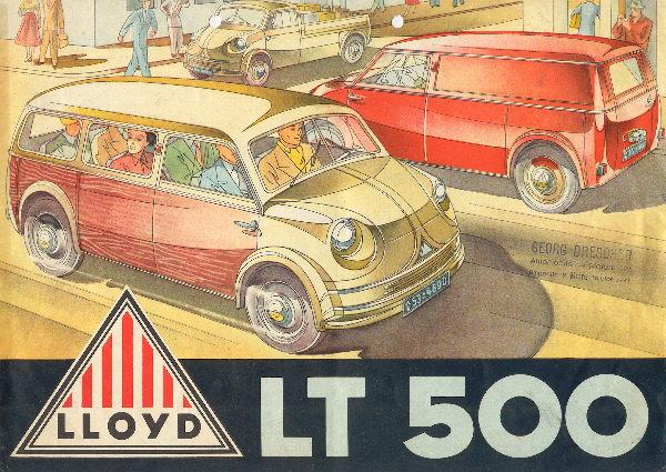 1952 Lloyd LT 500