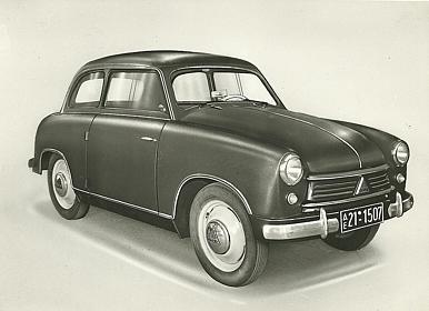 1952 lloyd53 Gutbrod Superior Viersitzer specifications