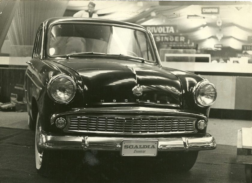 1952 Moskvitch-Scaldia essence