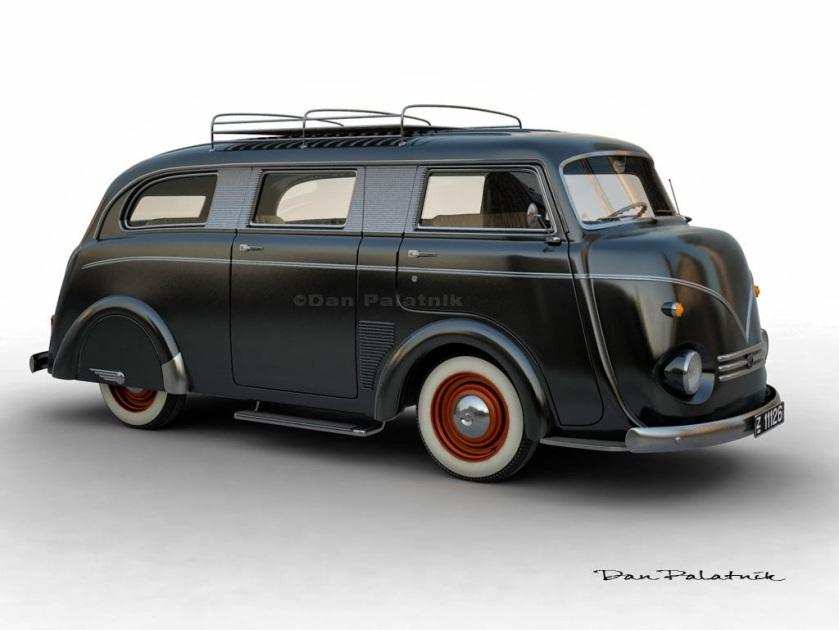 1952 Tempo Matador Limousine