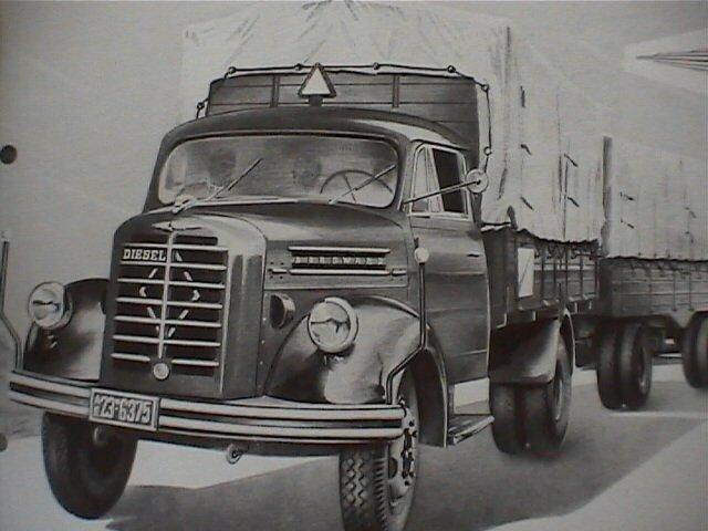 1953-61 Borgward B 4500  B555, B 4500 A   B 555 A a