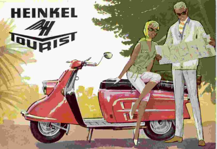 1953-64 Heinkel Tourist scooter1