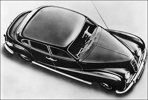 1953 BMW 501 (1971 cm3, 65 KM)