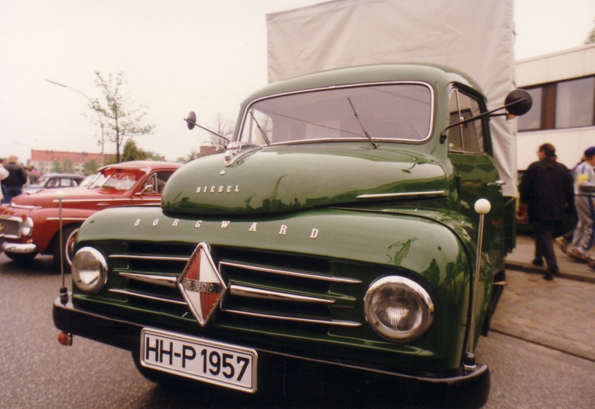 1953 Borgward B 1500 Diesel truck