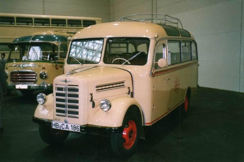 1953 Borgward Bus der Bremer Verkehrsbetriebe