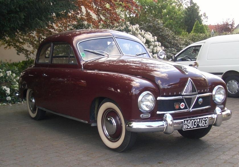 1953 Borgward Hansa 1500