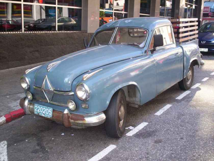 1953 Borgward hansa 1800 pickup