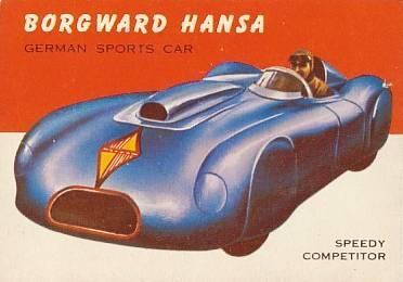 1953 BORGWARD HANSA