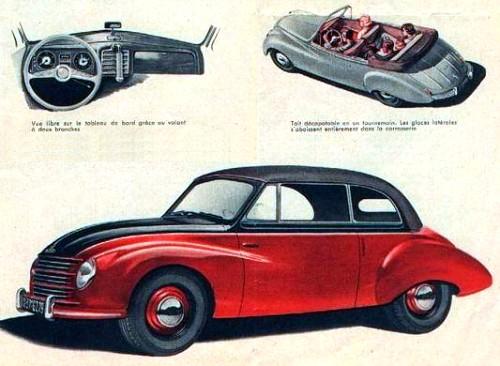 1953 Dkw f89 cabrio