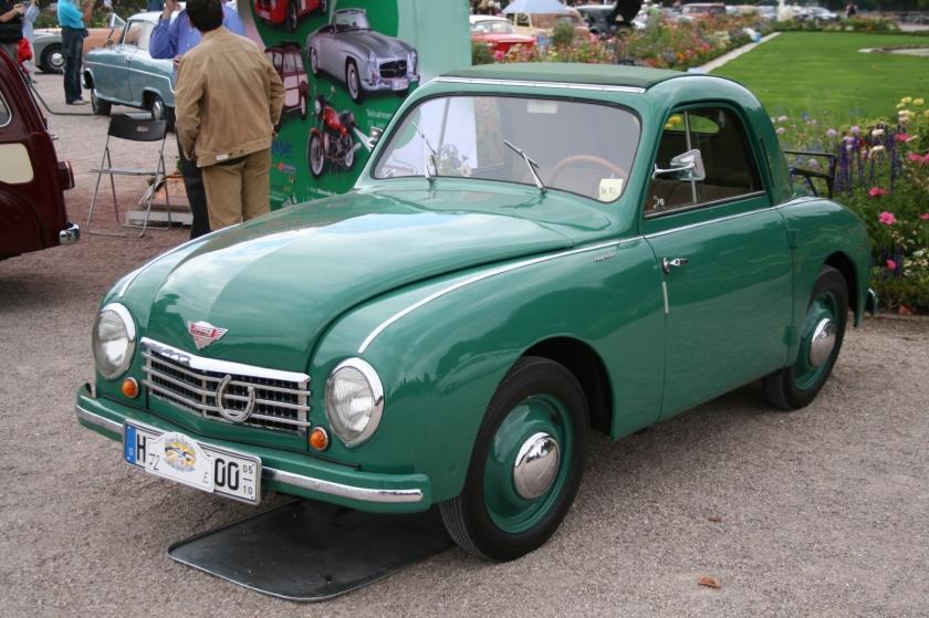 1953 Gutbrod Superior grün