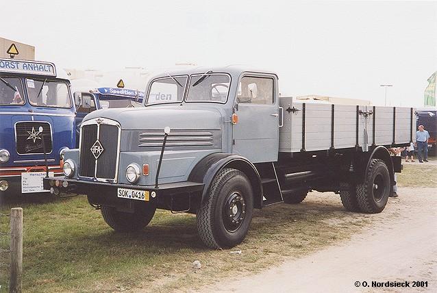 1953 IFA H6 Pritschen-Lkw