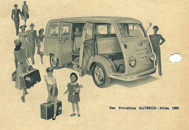 1953 Lloyd-Gutbrod Van